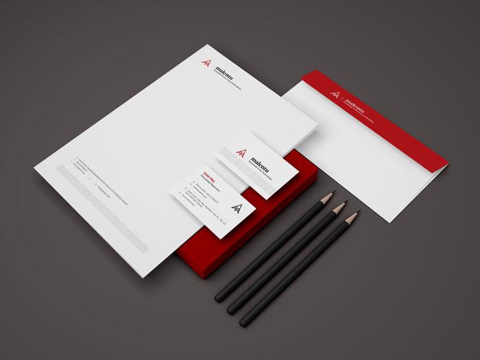 طراحی هویت بصری شرکت مالنتو ترکیه