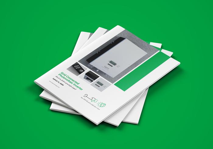 پروژه اجرای کاتالوگ شرکت مهندسی تاپکو