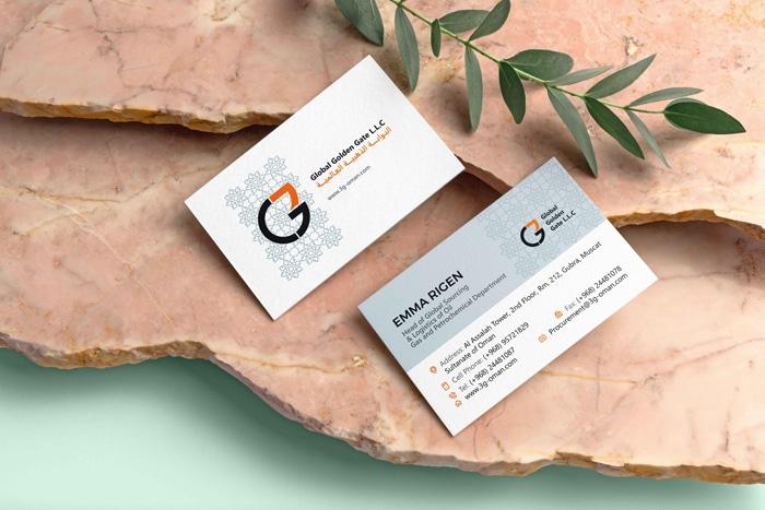 ریبرندینگ هویت بصری شرکت گلدن گیت عمان