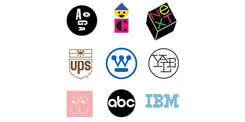 نمونه کارهای پل راند کاندیدای خلاقترین طراح لوگوی دنیا