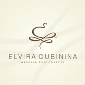 نمونه معروف و ایده طراحی لوگوی عکاسی Elvira Dubinina - طراحی لوگوی عکاسی – سبکها و انواع متدوال لوگوی عکاسی
