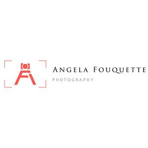 نمونه معروف و ایده طراحی لوگوی عکاسی Angela Fouquette- طراحی لوگوی عکاسی – سبکها و انواع متدوال لوگوی عکاسی