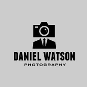 نمونه معروف و ایده طراحی لوگوی عکاسی Daniel Watson - طراحی لوگوی عکاسی – سبکها و انواع متدوال لوگوی عکاسی