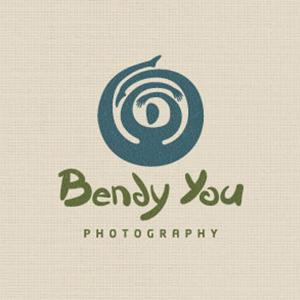 نمونه معروف و ایده طراحی لوگوی عکاسی Bendy You - طراحی لوگوی عکاسی – سبکها و انواع متدوال لوگوی عکاسی