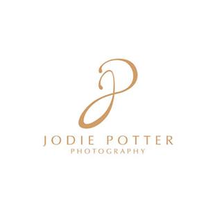 نمونه معروف و ایده طراحی لوگوی عکاسی Jodie Potter - طراحی لوگوی عکاسی – سبکها و انواع متدوال لوگوی عکاسی