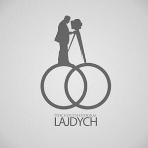 نمونه معروف و ایده طراحی لوگوی عکاسی Hochzeitsfotograf lajdych - طراحی لوگوی عکاسی – سبکها و انواع متدوال لوگوی عکاسی