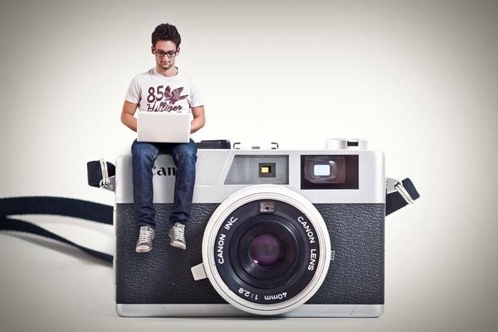 عکاسی تبلیغلتی - فرایند