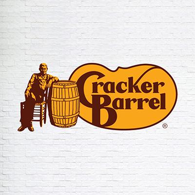 لوگوی قهوه ای رستوران cracker Barrel - انتخاب رنگ لوگو: معنی و روانشناسی رنگ در طراحی لوگو