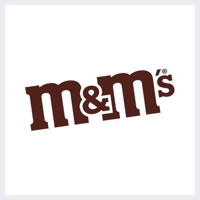 لوگوی قهوه ای برند شکلات M&M - انتخاب رنگ لوگو: معنی و روانشناسی رنگ در طراحی لوگو