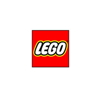 نمونه معروف لوگوی مربع برند لگو - انتخاب شکل لوگو : معنی شکل مربع در طراحی لوگو