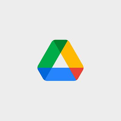 نمونه معروف لوگوی مثلث برند google drive - انتخاب شکل لوگو : معنی شکل مثلث در طراحی لوگو
