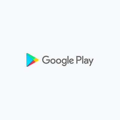 نمونه معروف لوگوی مثلث برند لgoogle play - انتخاب شکل لوگو : معنی شکل مثلث در طراحی لوگو