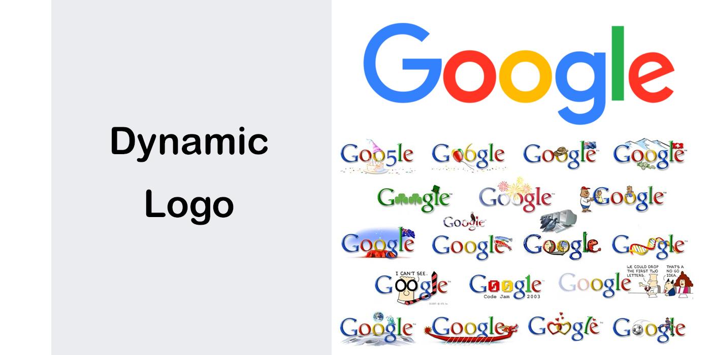انواع لوگو – لوگوی تصویری - لوگوی دینامیک یا پویا Dynamic Logo