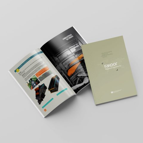 طراحی و چاپ کاتالوگ صنعتی جنرال انگلیسی شرکت فکور مغناطیس