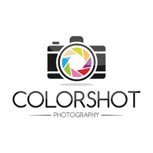 نمونه معروف و ایده طراحی لوگوی عکاسی Color Shot - طراحی لوگوی عکاسی – سبکها و انواع متدوال لوگوی عکاسی