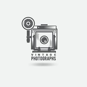 ایده و نمونه طراحی لوگوی عکاسی سبک قدیمی وینتیج یا رترو - طراحی لوگوی عکاسی – سبکها و انواع متدوال لوگوی عکاسی