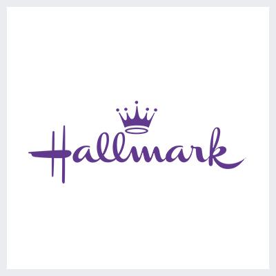 لوگوی بنفش برند گرافیکی هالمارک - انتخاب رنگ لوگو: معنی و روانشناسی رنگ در طراحی لوگو