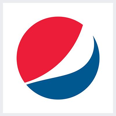 نمونه لوگوی انتزاعی Abstract از انواع لوگو- لوگوی برند پپسی Pepsi