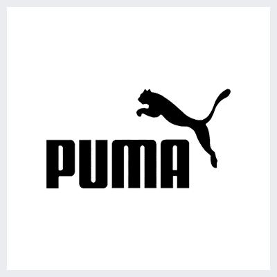 نمونه لوگوی ترکیبی Combination Mark از انواع لوگو- لوگوی برند پوما PUMA