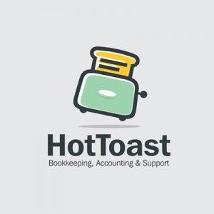 تحلیل لوگوی رقبا - لوگوی Hottoast - راهنمای جامع انتخاب و طراحی لوگو برای برند