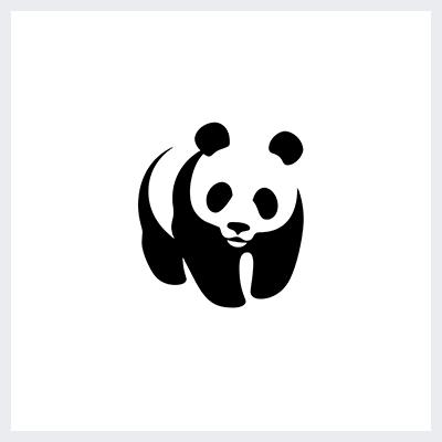 نمونه لوگوی سمبولیک یا نمادین از انواع لوگو- لوگوی بنیاد صندوق جهانی حیات وحش The World Wide Fund for Nature - WWF