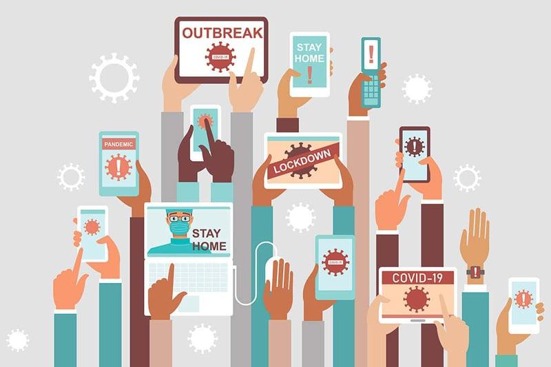 دیجیتال مارکتینگ در زمان کرونا