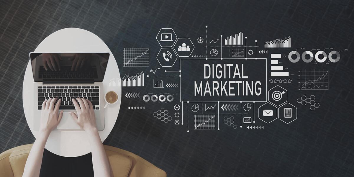 بازاریابی دیجیتالی اقدامات