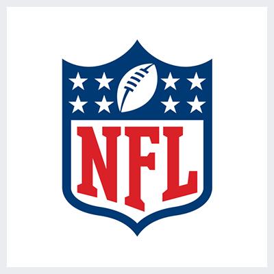 نمونه لوگوی امبلم Emblem از انواع لوگو- لوگوی لیگ ملی فوتبال امریکا NFL