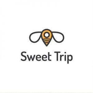 ایده لوگو و منبع الهام از طریق طوفان فکری - لوگوی sweet trip - راهنمای جامع انتخاب و طراحی لوگو برای برند