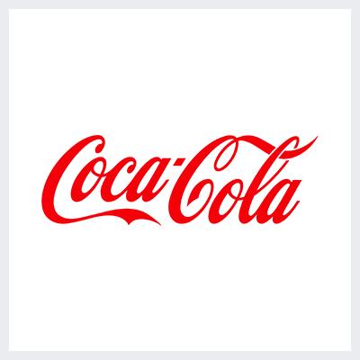 نمونه لوگوتایپ - لوگوی برند کوکاکولا از موفق ترین انواع لوگو است.
