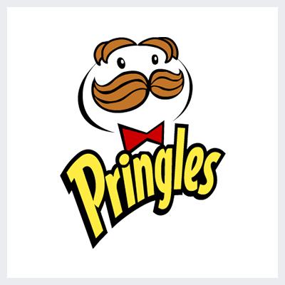 نمونه لوگوی مسکوت Mascot از انواع لوگو- لوگوی برند پرینگلز Pringles