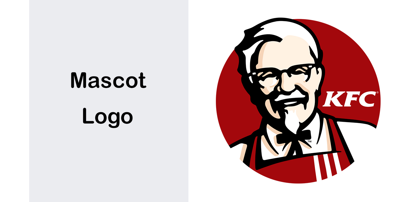 انواع لوگو – لوگوی تصویری - لوگوی مسکوت یا شخصیت Mascot Logo