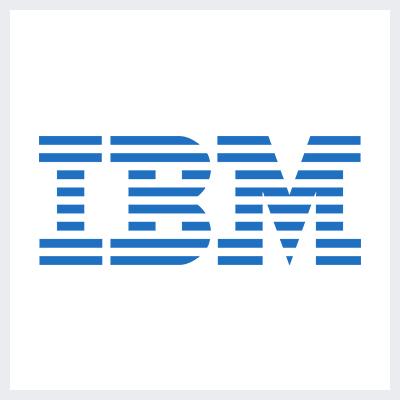 نمونه لوگوی مونوگرام - لوگوی برند IBM