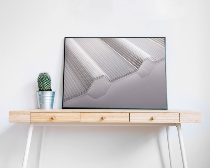 پروژه عکاسی صنعتی ورق های پلی کربنات شرکت پلیمر طلایی یزد