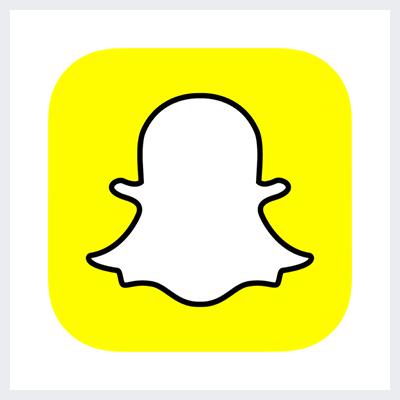 نمونه لوگوی سمبولیک یا نمادین از انواع لوگو- لوگوی برند اسنپ چت snapchat