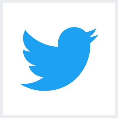 نمونه لوگوی سمبولیک یا نمادین از انواع لوگو- لوگوی برند توییتر Twitter